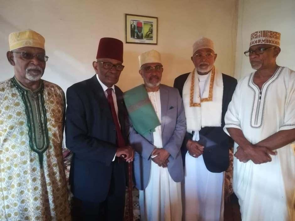 Said Hassan Said Hachim après sa rencontre avec les notables sur l'etat de santé de Sambi